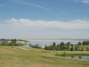 Aurora Reservoir in Southeast Aurora Colorado