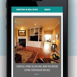 Real Estate Website on a Mobile Home