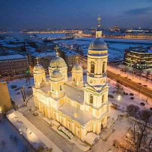 St. Vladimir's Cathedral in St. Petersburg