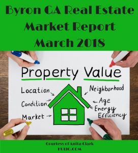 Byron GA Real Estate Market Report - March 2018 Edition